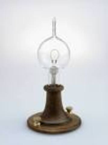 Invention of Electric Light Bulb