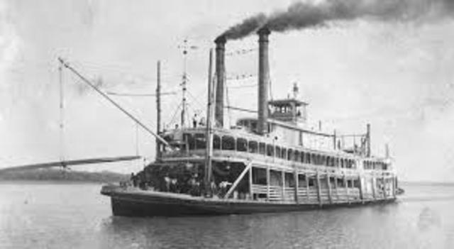 When the Steamboat was invented