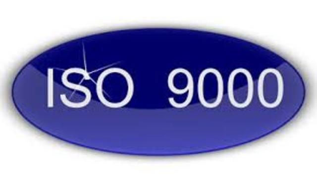 La BS 5750, se convierta en la ISO 9000