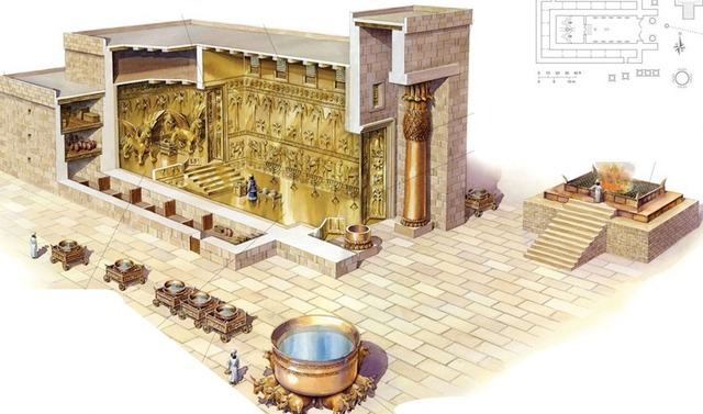 Construcción del Templo de Israel