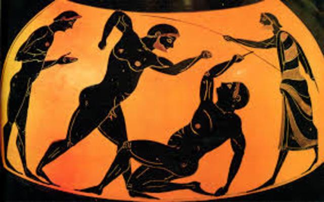 Pintura en grecia