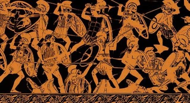 Derrota helénica por parte de los macedonios