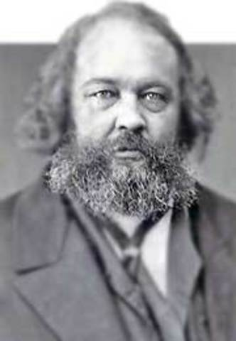 Mijaíl Alexándróvich Bakunin