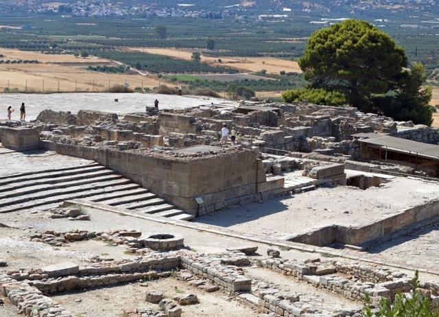 Palast von Phaistos (Kreta)