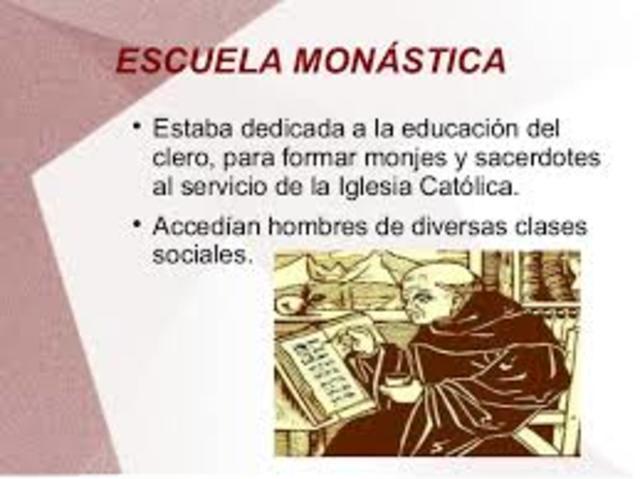 Escuela monástica