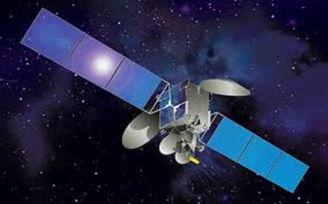 Commercial telecommunications satellite
