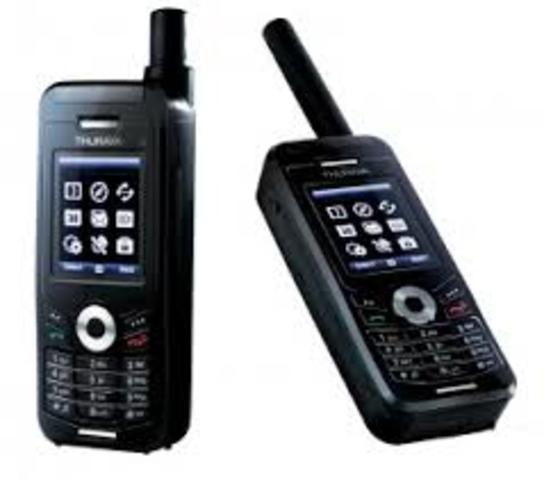 Mobile satellite hand-held phones