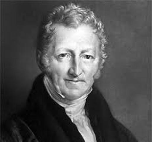 homas Malthus