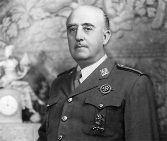 Franco, jefe del Estado Mayor del Ejército