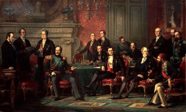 British Ignorance of Treaty of Paris