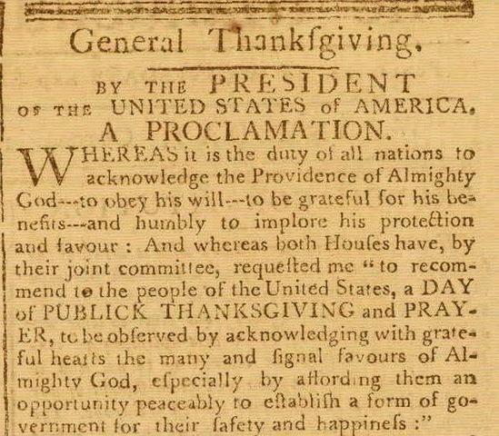 Washington's Proclamation of Neutrality