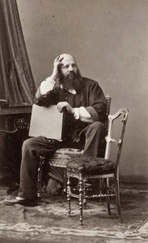 Andre-Adolphe-Eugene Disderi - calling card mounts