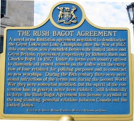 Rush-Bagot Agreement