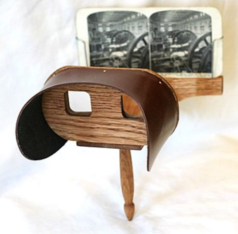 Oliver Wendell Holmes - Stereoscope viewer