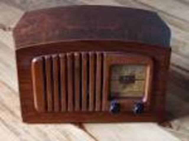 The radio was invented