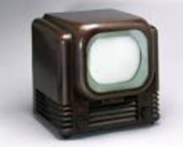 The TV  was invented