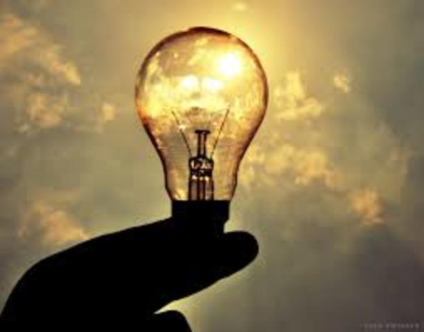 When the Electric Light Bulb was invented