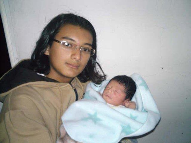 Nacimiento de Mi Primer Hijo-Santiago Rojas