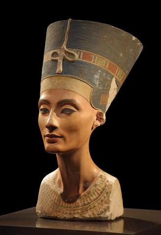 Cabeza de la reina Nefertiti