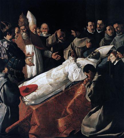 Exposición del cuerpo de san Buenaventura