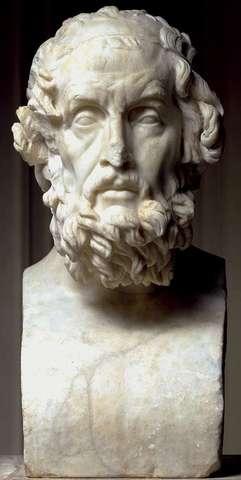Retrato de Homero