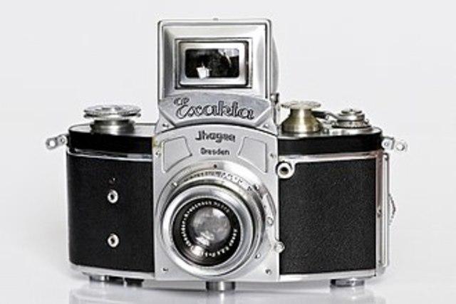 First 35 mm SLR Camera