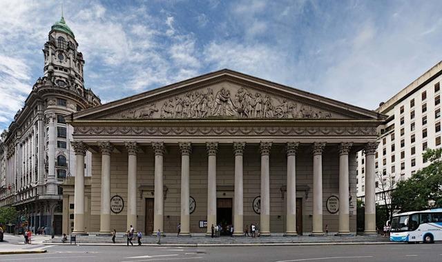 Fachada Catedral de Buenos Aires