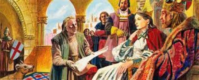 Christopher Columbus was sponsored by Queen Isabella to sail westward to reach Asia