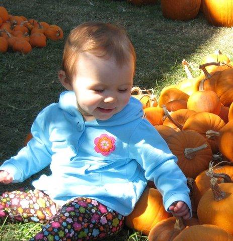 meredith at age 1