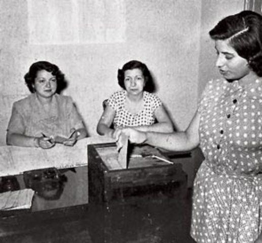 El Voto Femenino