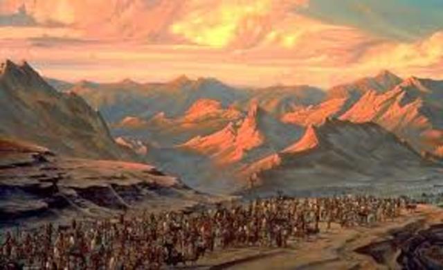 El éxodo del pueblo hebreo (La religión en Israel)