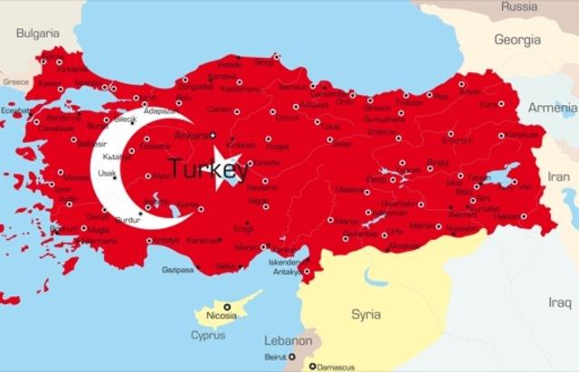 The Ottoman Empire began in Turkey