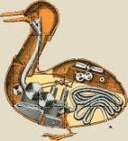 canard de Jacques de Vaucanson