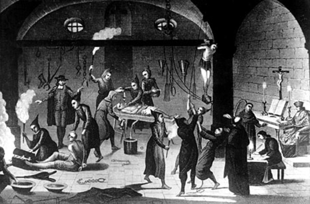 Ferdinand II and Isabelle I started the Spanish Inquisition