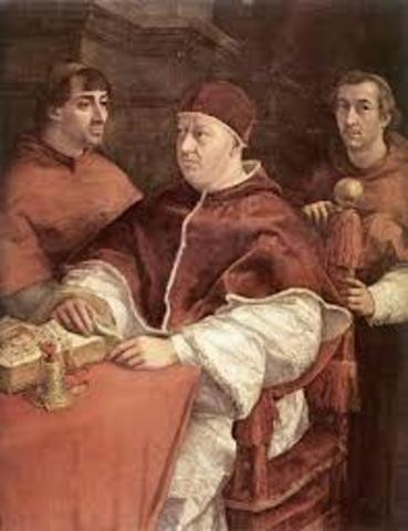 Pope Leo X excommunicated Luther