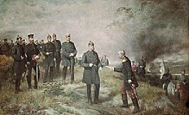 Guerra franco-prussiana e Napoleone III catturato