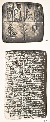 Comienzos de la escritura (1792) A.C