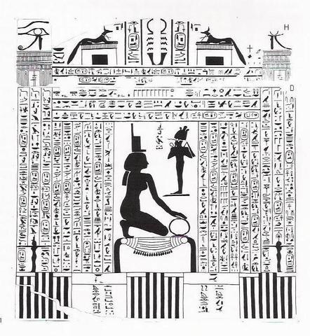 SARCÓFAGO DE ASPALTA (Rey Etiopía) (593-568)