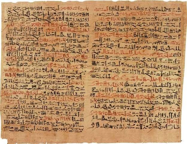 Los manuscritos en Papiro