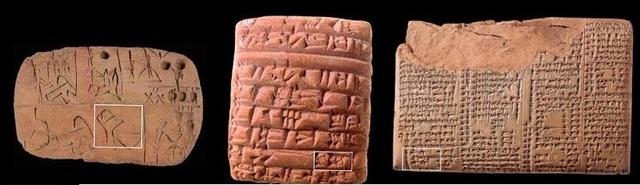 Los jeroglíficos mantuvieron su origen pictográfico