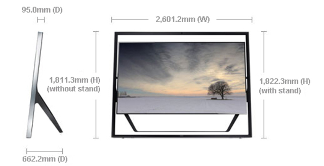 LED S9 UNTRA HD  BY: SAMSUNG