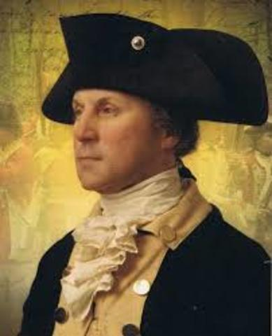 Continental Congress appoints George Washington commander-in-chief of Continental Army
