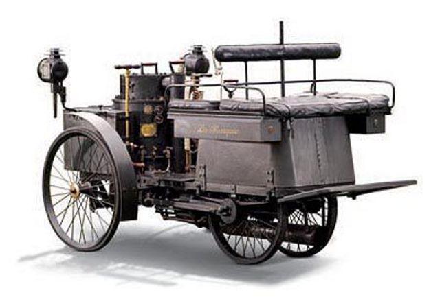Vehículo  eléctrico de  Jeantaud.