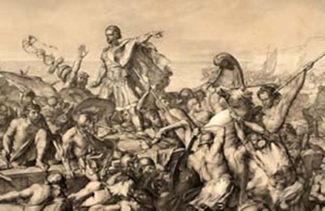Julius Caesar's expedition to Britain (Part of Caesar's Gallic Wars)