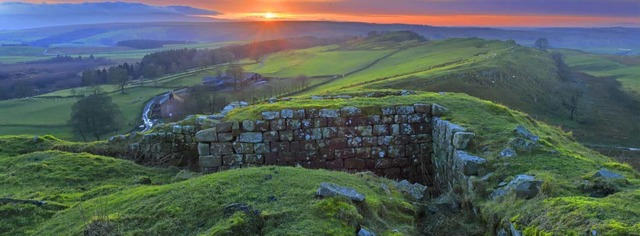 Emperor Hadrian orders the construction of a wall across northern Britain