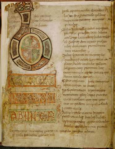 Bede finishes his 'Ecclesiastical History of the English People'