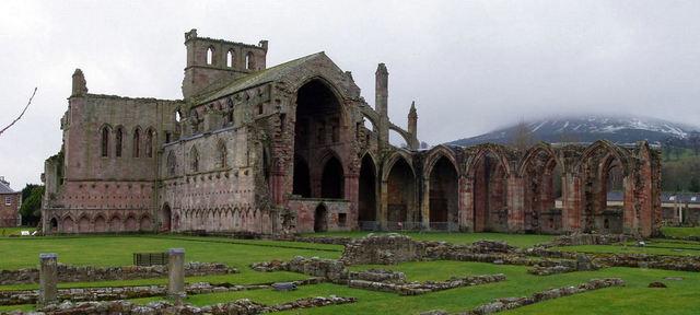 Vikings attack the monastery of Lindisfarne, Northumbria