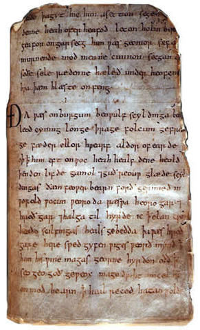Byrhtnoth, the chief magistrate of Essex, dies fighting the Vikings