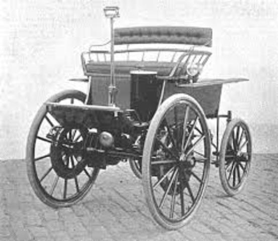 primer vehículo eléctrico