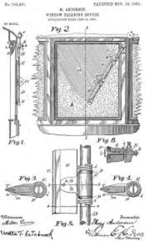 Patente del limpiaparabrisas